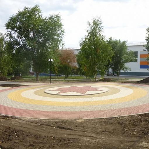 """строительство сквера """" Центральный"""""""