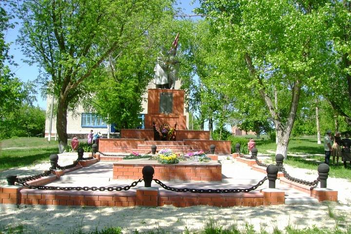 памятник № 151 с. Шевченково