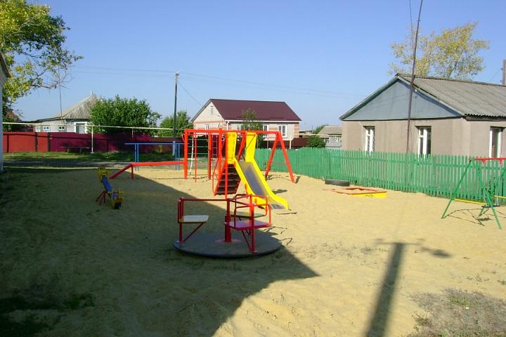 детская площадка в х. Пасеково
