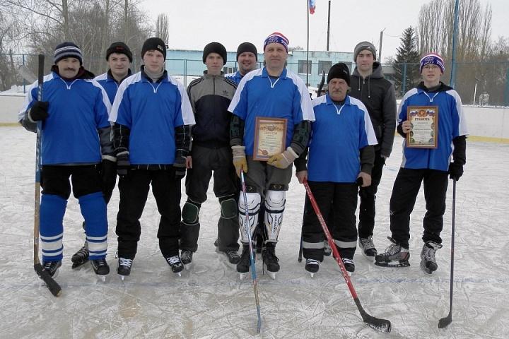 хоккейная команда Первомайского сельского поселения