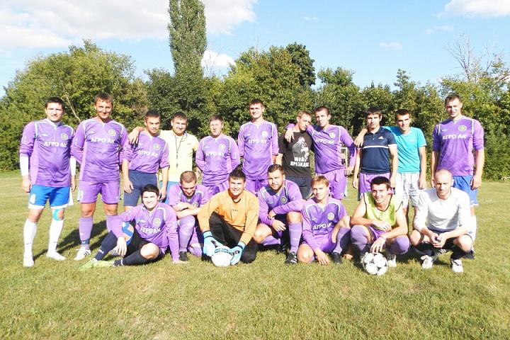 Футбольная команда Первомайского сельского поселения сезона 2017
