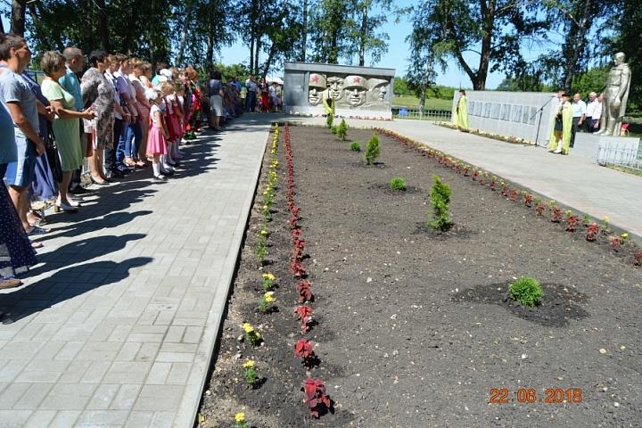 Ремонт мемориала Дмитриевка