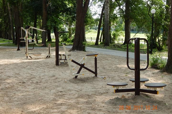 Спорт площадка у Старотишанского СДК