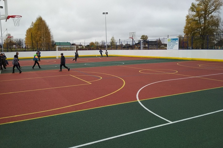 Многофункциональная спортивная площадка