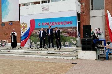 12 июня 2019 по все стране прошли праздничные мероприятия посвященные празднику «День России»