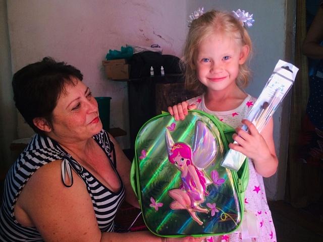 18.05.19г в с.Кухаривка в библиотеке стортавала  Благотворительная акция «Подари улыбку ребёнку» (Кишинская Анастасия)