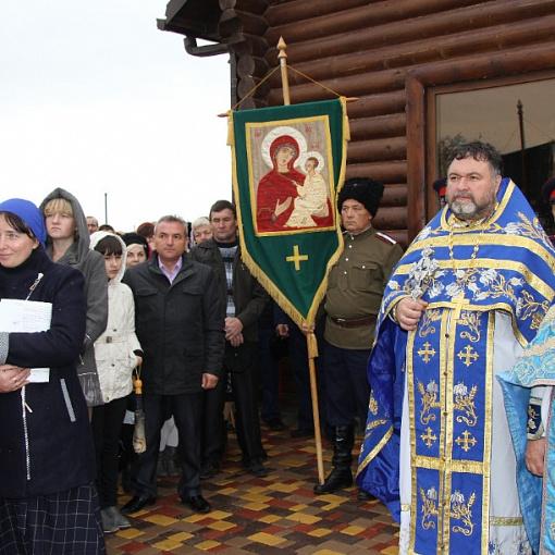 Открытие православного храма
