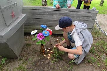 22-июня, у обелиска в с.Пезмег, был проведен митинг «День памяти и скорби»