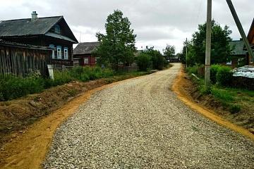Ремонт дороги уличной дорожной сети