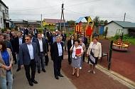 Приезд губернатора в Мятлево