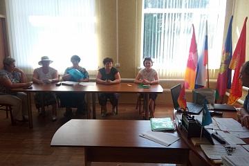 Заседание штаба по выборам 8 сентября 2019 года
