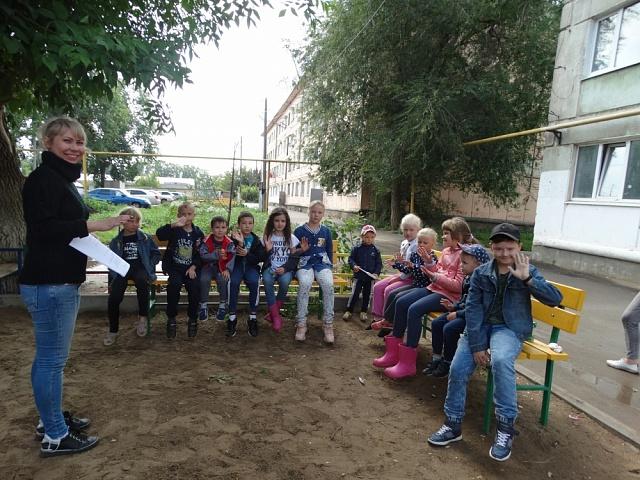 9 августа в сельском поселении Черновский в рамках проекта «Выходи гулять!» прошло одно из очередных мероприятий серии «День двора».