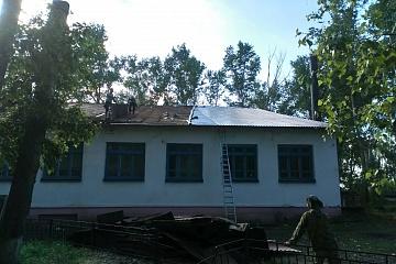 Ремонт Старотишанского СДК