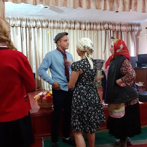 """Семилукский СДК. Сценка """"Любовь и голуби"""" 2019 г"""