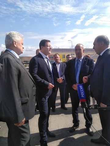 О рабочем визите губернатора Самарской области Азарова Д.И. в село Алькино