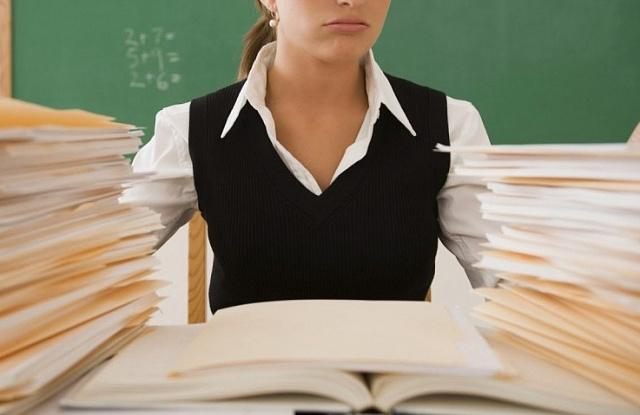 Сокращение отчетности учителей