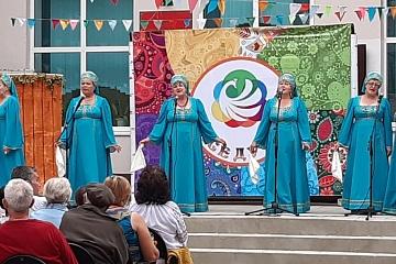14.09.2019 года в 16.00 ч. На территории Ольховатского сельского поселения прошел II открытый фестиваль народного творчества «Беседушка».