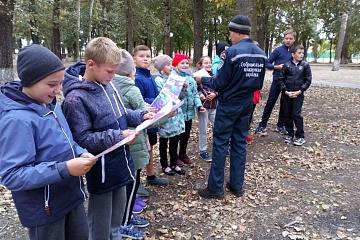 Мероприятие по пожарной безопасности в Старотишанском СДК