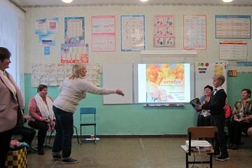 "Конкурс ""А ну-ка, бабушка!"" в селе Вязовка"