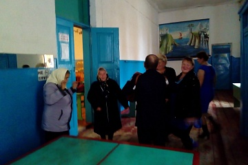 День пожилых людей в Верхнетишанском СДК