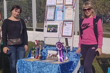 28 сентября  жители с. Ширяево приняли участие в спортивном районном празднике.