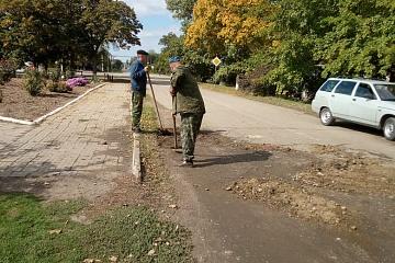 На территории сельского поселения продолжается исполнение наказов избирателей