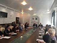15 октября состоялось очередное заседание Общественного совета при главе администрации Каширского муниципального района