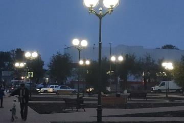 """В Городовиковске завершились работы по благоустройству части территории Городского парка """"Лужайка лотосов"""""""