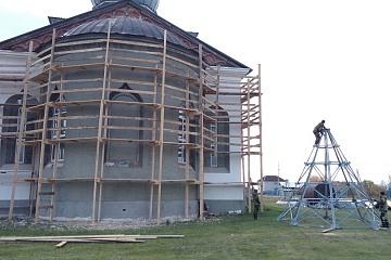 Реставрация храма во имя Святой Равноапостольной Великой княгини Ольги