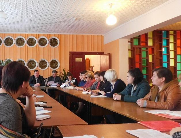 6 ноября в РДК состоялся семинар для работников культурно - досуговых учреждений района