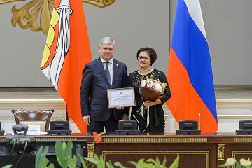 9 декабря 2019 года губернатор Александр Гусев вручил награды победителям ежегодного конкурса «Лучшее муниципальное образование Воронежской области».