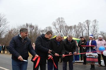 В селе Великоархангельское открыли новый мост