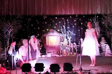 7 января в зале Дома культуры состоялся праздничный концерт «Светлый праздник Рождества».