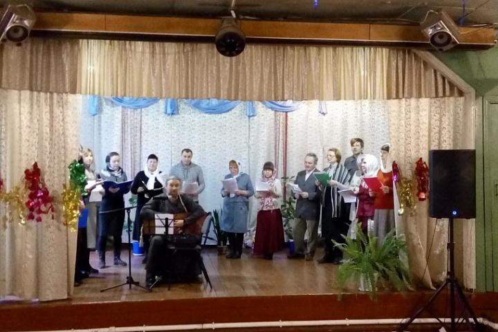 Коцерт«На кануне Рождества»