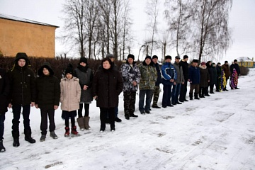 14 января 2020 года состоялся митинг, посвященный Дню освобождения села Новосолдатка от немецко-фашистских захватчиков