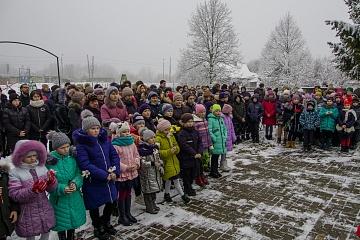 В поселке Мятлево отметили 78-ю годовщину со дня освобождения от немецких захватчиков
