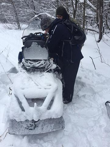 На территории Волжского района проходит оперативно-профилактическое мероприятие «Снегоход»