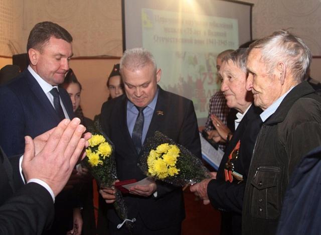 7 февраля 2020 года ветеранам Великой Отечественной войны, проживающим на территории Кухаривского сельского поселения, были вручены юбилейные медали.