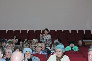 Состоялся отчет главы  Дракинского сельского поселения