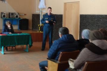 12 февраля 2020 года В Данковском доме культуры прошел отчет главы Данковского сельского поселения о проделанной работе в 2019 году