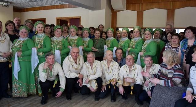 8 февраля художественные руководители центров культуры района посетили областной семинар-практикум «Народно-певческие и танцевальные традиции Воронежской области»