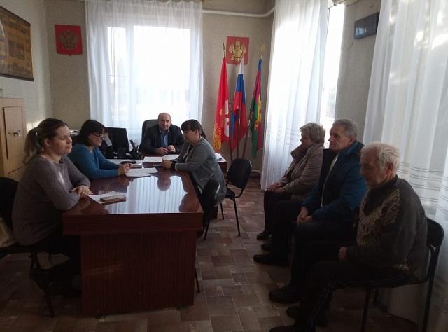 В администрации прошло заседание территориальной комиссии по профилактике правонарушений в Глебовском сельском поселении Кущевского района