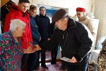 Вручение медалей к 75 - летию Победы.