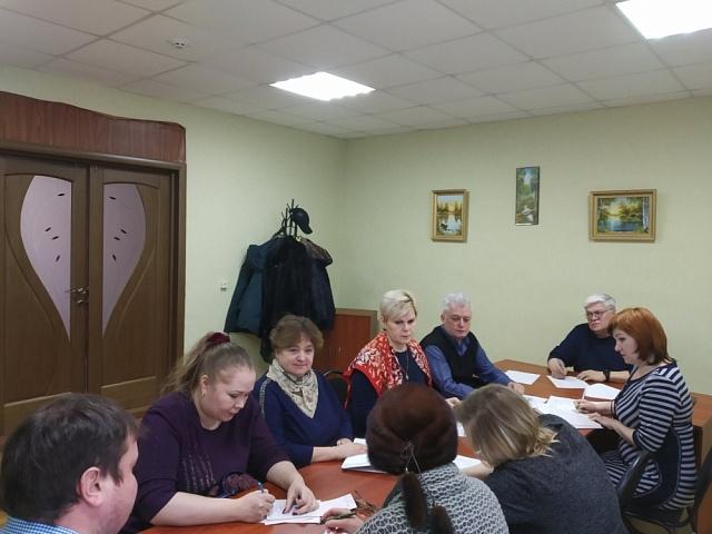 В администрации Никольского сельского поселения в связи с празднованием 75 годовщины Победы в Великой Отечественной войне состоялось совещание по созданию Плана мероприятий, посвященных празднованию