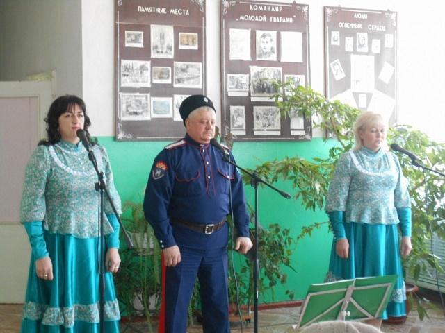 Участие в открытии памятный знака в с.Новый Лиман