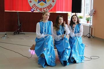 Концерт, посвященный празднованию Дню защитника Отечества