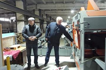 ООО «Техноплюс» посетил замминистра природных ресурсов и экологии Калужской области