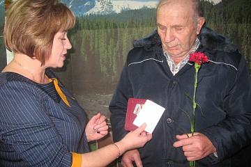 Тожественное вручение юбилейных медалей к 75 летию Великой Победы.
