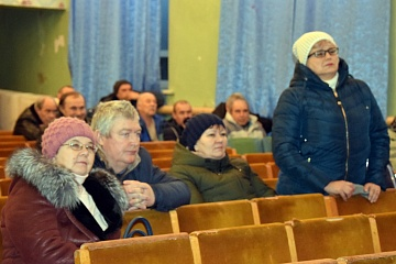Отчет  главы Новосолдатского сельского поселения  о проделанной работе за 2019 год