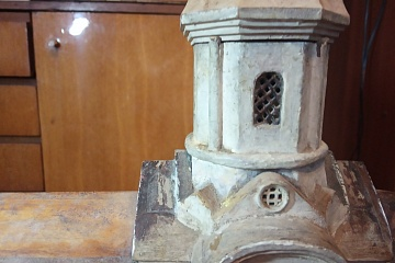 Нашелся макет Покровской церкви